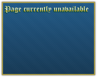 Page currently unavailable